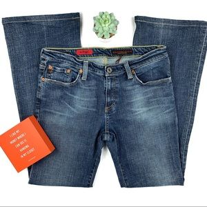 AG Adriano Goldshmied Angel Flare Med Wash Jeans